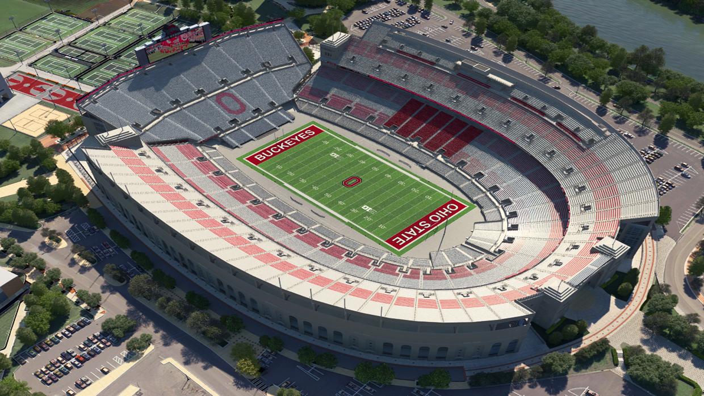 Ohio State University Football Field